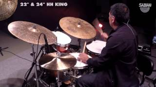 NAMM 2015: Sabian Big And Ugly Cymbal Demo feat. Alex Acuna