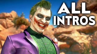 MORTAL KOMBAT 11 Joker All Intros Dialogue Character Banter MK11