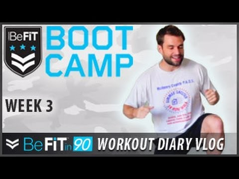 BeFit In 90 Workout Diary With Chris Thompson: Week 3 - BeFit Bootcamp