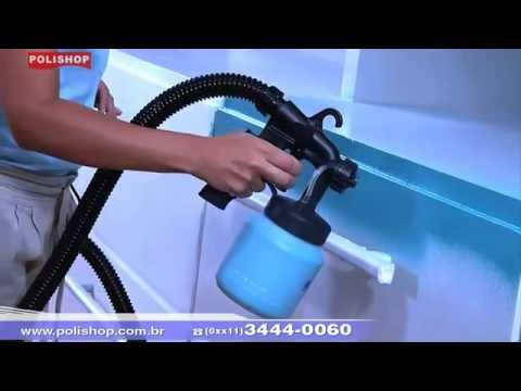 Pulverizador para pintura paint zoom polishop youtube - Maquina para pintar paredes ...