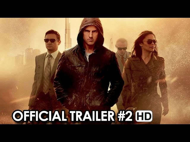Mission: Impossible Rogue Nation Official Trailer #2 (2015) - Tom Cruise HD