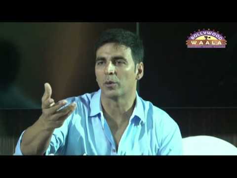 Press Conference With Akshay Kumar For Women Self Defence