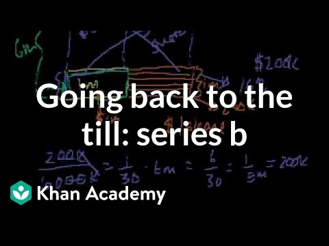 Khan Academy - Going Back To The Till: Series B