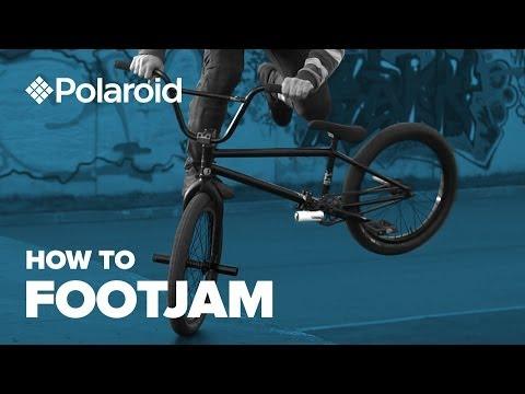 Как сделать Футджем на BMX (How to Footjam bmx)