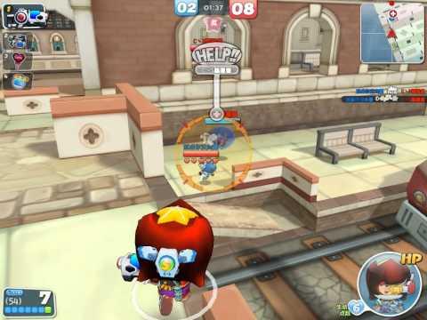 Crazy Shooting Bubble Fighter  泡泡戰士 - 散彈槍實戰 (泡泡村嘣嘣车站 2012-03-03)