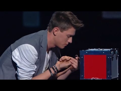 Americas Got Talent Finalist MAGICIAN USES TWITTER TO PREDICT THE FUTURE | Collins Key