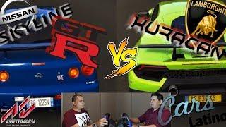 Juan Vs Alex (1500hp R34 vs Performante) (Gameplay Assetto Corsa) *CarsLatino*