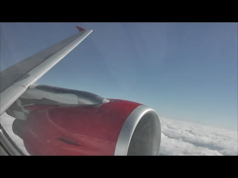 Virgin Atlantic Airbus A320-214 Manchester to London Heathrow *Full Flight*