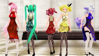 【MMD】Carry Me Off【ChinaDress】