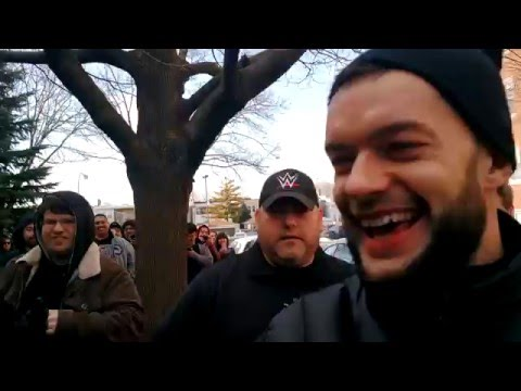 NXT is Chicago - FINN BÁLOR TOUCHES ME, Coup de Grâce on a hubcap, SAWFT (Part 1) Jan/16/16