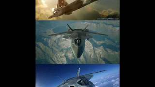 A 6'th Generation Of Aircraft Fighter A Modern Stealth Advanced Technology 2017-2030-Future Military