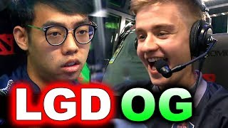 OG vs PSG.LGD - BEST INSANE CRAZIEST GAME! TOP 2 #TI8 - THE INTERNATIONAL 2018 DOTA 2