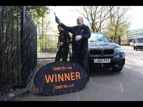 Winner! Week 16 2016 - BMW X5 M-Sport plus £10,000!