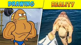 8 Kids Cartoon Characters Seen In Real Life