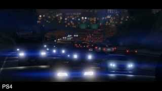 Grand Theft Auto 5 GTA 5 (PS4, PC, Xbox One) vs (PS3, Xbox 360) Сравнение трейлеров