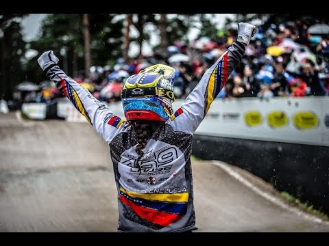 Women's Elite World Champion - 2015 UCI BMX WCHs Heusden - Zolder