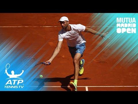 Top Hot Shots & Highlights: Ivo Karlovic vs Roberto Bautista Agut | Mutua Madrid Open 2017 Day 3