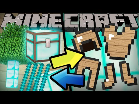 If Diamonds and Wood Switched Places - Minecraft