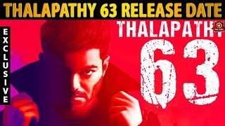 Thalapathy 63 Official Release Date I Thalapathy Vijay | Atlee