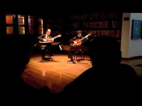 Odeum Guitar Duo - Granados - Valses Poeticos -