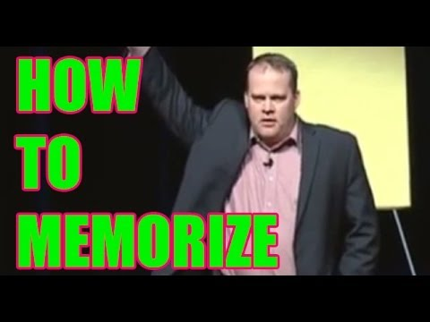 How to Memorize | How to Remember Names | Memory Speaker