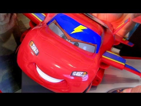 Hawk Lightning McQueen CARS 2 toy Interactive Air Mater talking toy Disney Pixar toys Blucollection