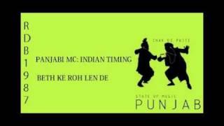 PANJABI MC- BETH KE ROH LEN DE.flv