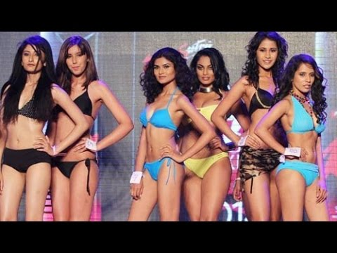 Models Go Topless At Kamasutra Miss Maxim 2014 video