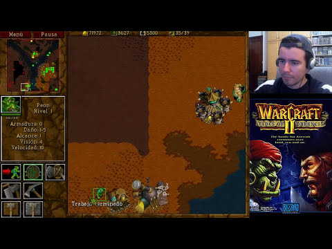 WARCRAFT 2 (PC) || Domingos con Slobulus 52 || Gameplay en Español HD