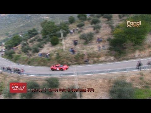 Sperlonga 5° Ronde Rally. In volo sul percorso delle prove speciali