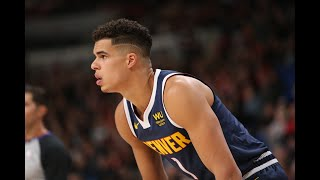 Michael Porter Jr. Checked In And Immediately Hit A Step-Back