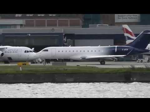 Crosswinds at London City Airport | 07/11/14
