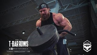 How-To: T-Bar Rows - Feroce Iron Academy