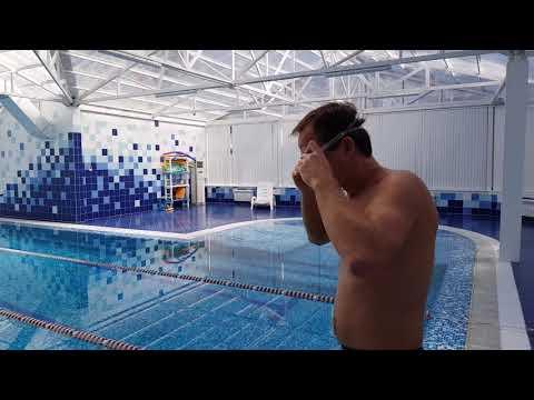50 метров под водой. Занимайтесь спортом. Любите жизнь! Счастья! ❤