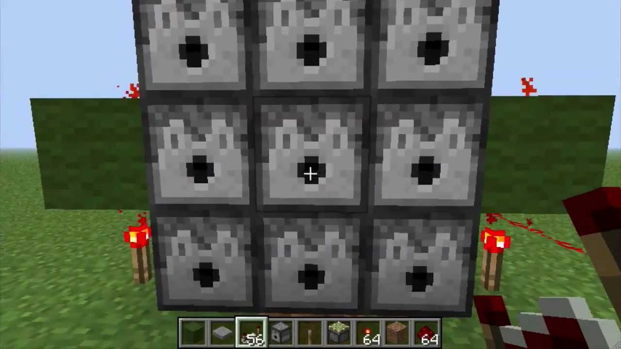 Minecraft 3×3 Dispenser