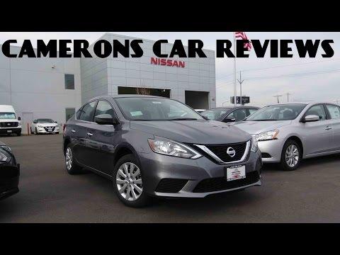2016 Nissan Sentra SV 1.8 L 4-Cylinder Review | Camerons Car Reviews