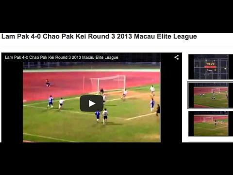 Lam Pak 4-0 Chao Pak Kei Round 3 2013 Macau Elite League