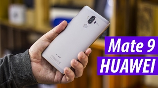 Huawei Mate 9: распаковка и 1 день использования ЦАРСКОЙ ЛОПАТЫ! Самый нихуавейный Хуавей эвэр!