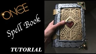 How to Regina Mils/Coras Spell book - ONCE - Once Upon A Time DIY Tutorial