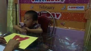 Chương trình Tiếng Anh Mầm Non - Alibabaschool Ninh Sơn - Xuân Phúc - Doremon- levelA1PSE
