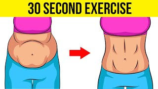 Just 30 Second Exercise will Tighten Your Belly in 3 Weeks | How To Lose Belly Fat Fast #HealthPedia