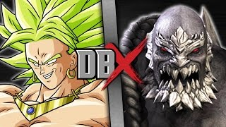 Broly VS Doomsday (Dragon Ball Z VS DC Comics) | DBX