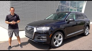 Is the 2019 Audi Q7 the MOST useable LUXURY 3-row SUV?