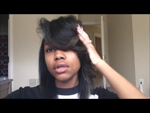#TheBigBangTheory   Poppin swoop bang with straight hair