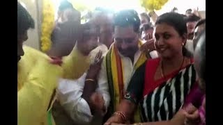 Minister Amarnath Reddy and MLA Roja Opend New Hospital At Chitoor District Puttur Mandal