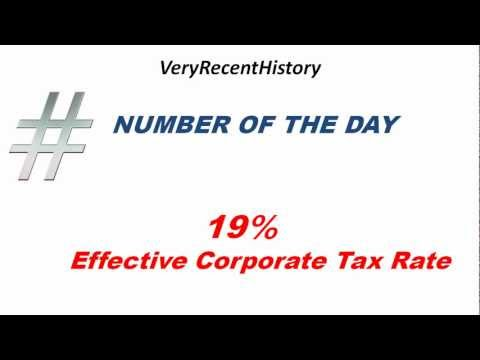 Federal Income Taxes On American Corporations Are Not The Highest In The World