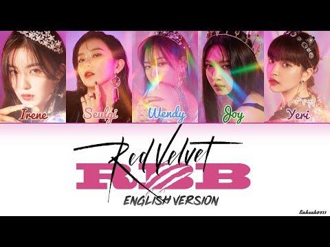 RED VELVET (레드벨벳) _ 'RBB (Really Bad Boy)' ENGLISH VERSION Lyrics [Color Coded ENGLISH]