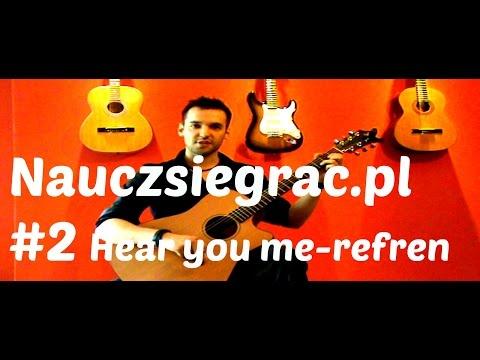 Nauka Gry Na Gitarze. Lekcja 2 Dc Pierwszego Utworu.