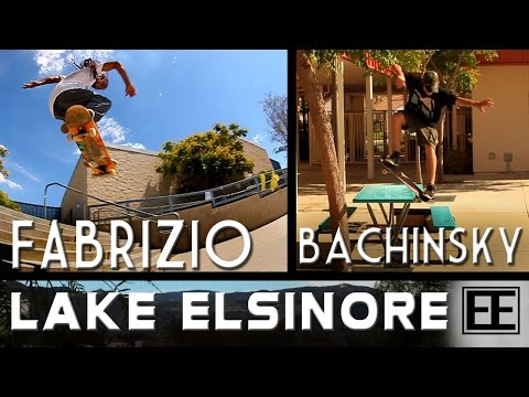 Lake Elsinore Skate Trip with Fabrizio Santos & Dave Bachinsky