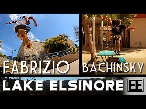 Lake Elsinore Skate Trip with Fabrizio Santos & Dave Bachinsky